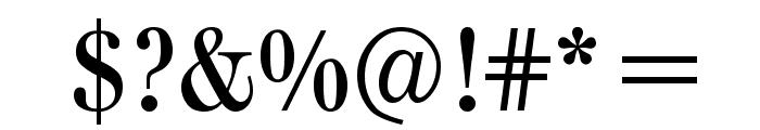 ClassizismAntiquaBook Font OTHER CHARS