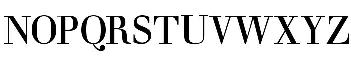 ClassizismAntiquaBook Font UPPERCASE