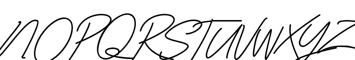Classy Beautiful Font UPPERCASE