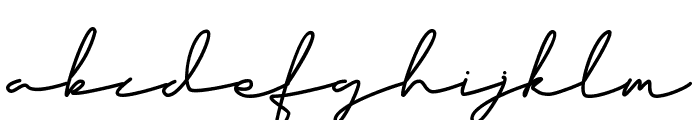 Classy Beautiful Font LOWERCASE