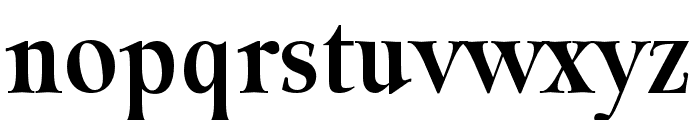 Classy Coiffeur Bold Font LOWERCASE