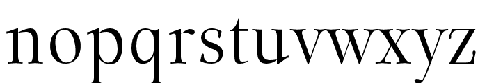 Classy Coiffeur Regular Font LOWERCASE