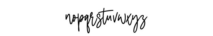 Classyday Font LOWERCASE