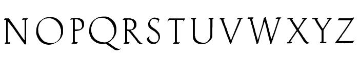 Clauderosa Font UPPERCASE