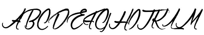 ClaudetteaimeleChocolat Font UPPERCASE