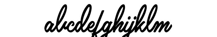 Claudia Personal Use Regular Font LOWERCASE