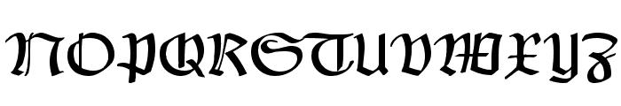Claudius Alternate Font UPPERCASE