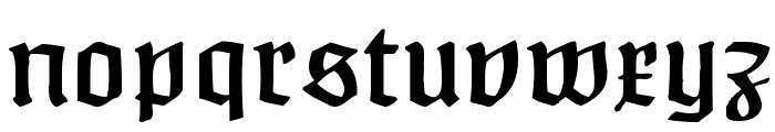 Claudius Alternate Font LOWERCASE