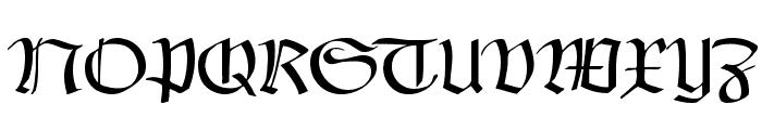 Claudius Headline Font UPPERCASE