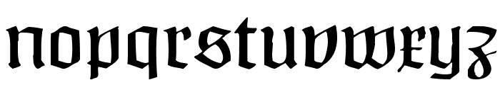 Claudius Headline Font LOWERCASE