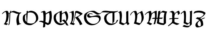 Claudius Font UPPERCASE