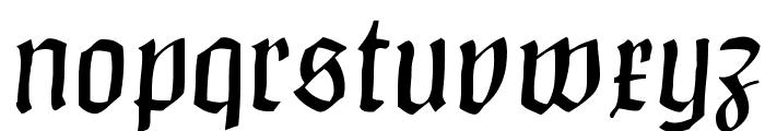 ClaudiusImperator Font LOWERCASE