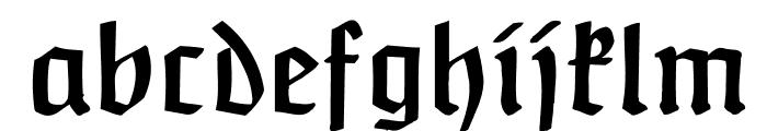 Claudius Font LOWERCASE