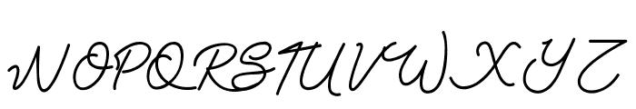 Claudya_DEMO Font UPPERCASE
