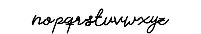 Claudya_DEMO Font LOWERCASE