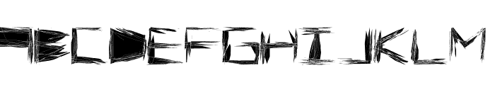 Claustrophont Font UPPERCASE