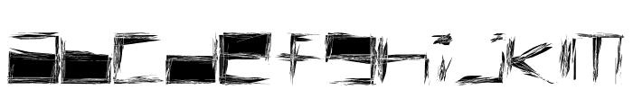 Claustrophont Font LOWERCASE