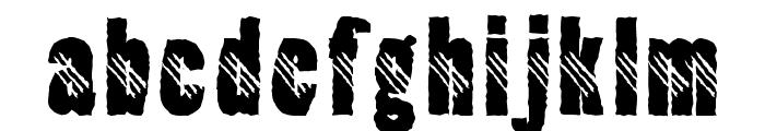 Clawripper Font LOWERCASE
