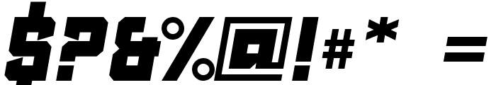 Clean Sports Font OTHER CHARS