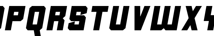 Clean Sports Font LOWERCASE