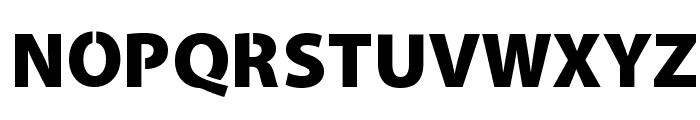 Cleanvertising-Black Font UPPERCASE