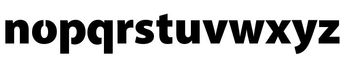 Cleanvertising-Black Font LOWERCASE