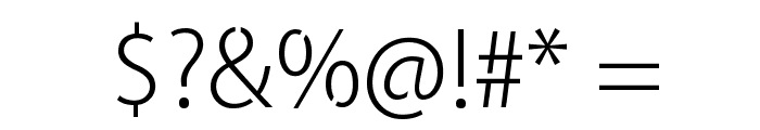 Cleanvertising-Light Font OTHER CHARS