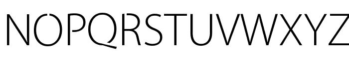 Cleanvertising-Light Font UPPERCASE