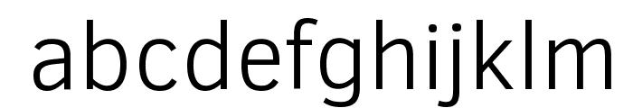 Clear Sans Light Font LOWERCASE