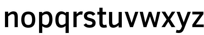 Clear Sans Medium Font LOWERCASE