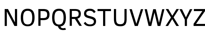 Clear Sans Font UPPERCASE