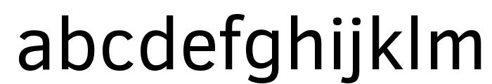 Clear Sans Font LOWERCASE