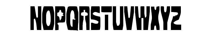 Cleaved TTR -BRK- Font UPPERCASE