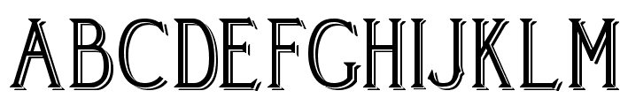 Cleaver's_Juvenia_Blocked Font UPPERCASE
