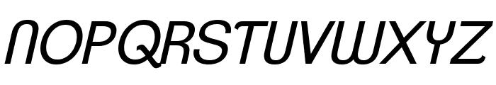 ClementePDah-BookItalic Font UPPERCASE