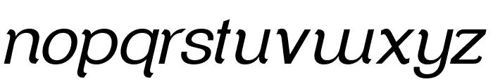 ClementePDah-BookItalic Font LOWERCASE