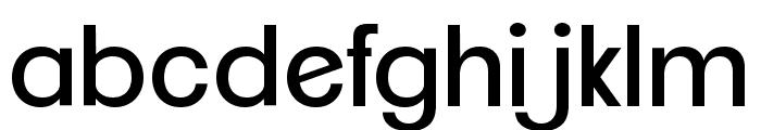 ClementePDai-Regular Font LOWERCASE