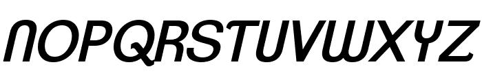 ClementePDaj-RegularItalic Font UPPERCASE
