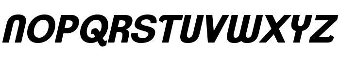 ClementePDan-BoldItalic Font UPPERCASE