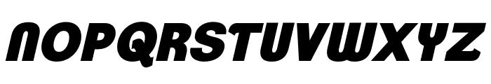 ClementePDar-UltraBoldItalic Font UPPERCASE