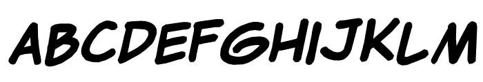 Clementine Expanded Regular Font LOWERCASE