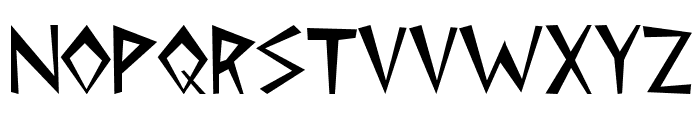 Cleopatra Font UPPERCASE