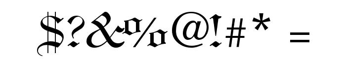 ClerestorySSK Font OTHER CHARS