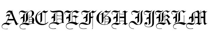ClerestorySSK Font UPPERCASE