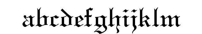 ClerestorySSK Font LOWERCASE