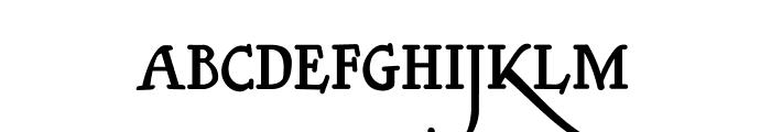 Clerica Medium Font UPPERCASE