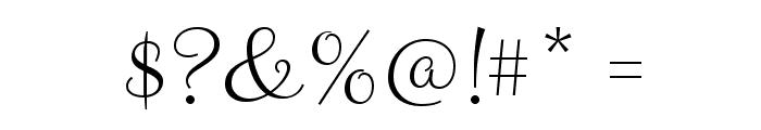 Clicker Script Font OTHER CHARS
