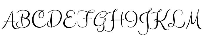 Clicker Script Font UPPERCASE
