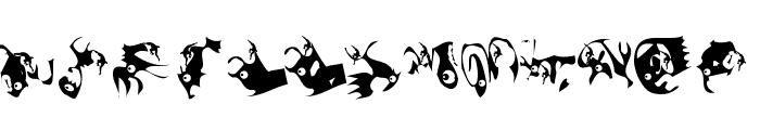 Climbats Font UPPERCASE