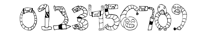Clink Clank Font OTHER CHARS